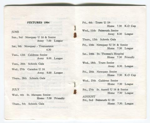 Membership card page 3