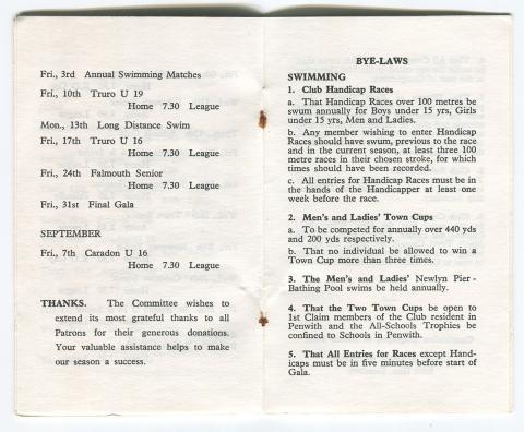 Membership card page 4