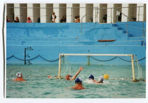 Water polo team in Jubilee Pool