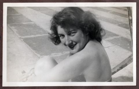 Joyce Cooper, July 1949