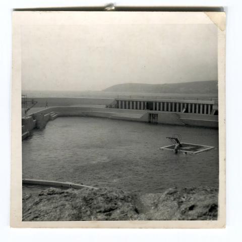 Original diving stage