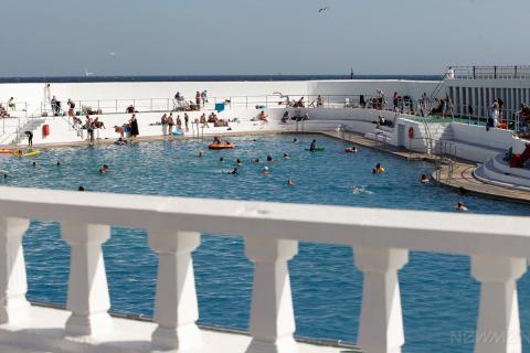 Jubilee Pool view from terrace