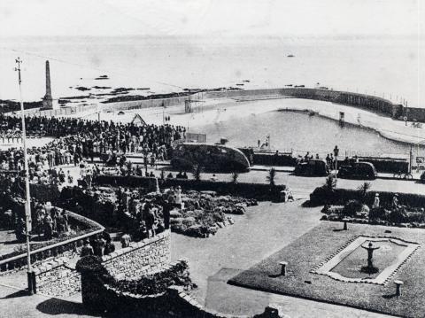 Jubilee Pool's opening day
