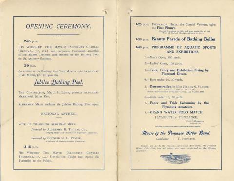 Inside Opening Day brochure