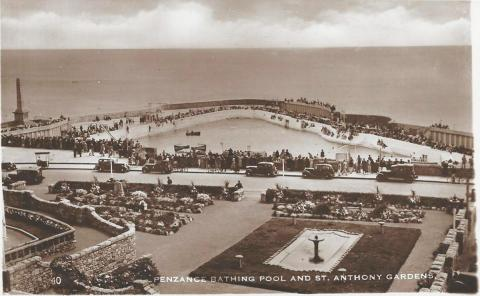 Jubilee Pool and St Anthony's gardens