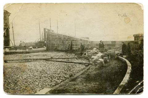 Battery Road construction (1/3)