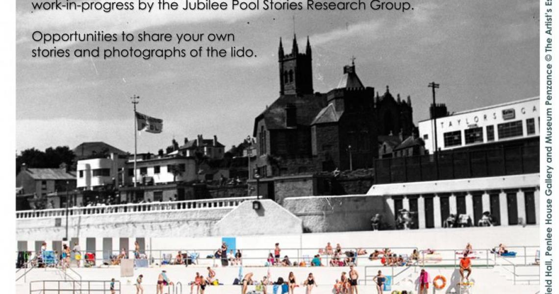 Jubilee Pool Exhibition poster